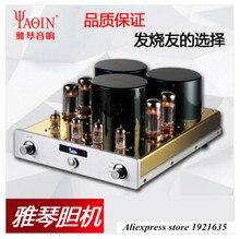 YAQIN MC-10T EL34 x 4 Class A Valve Tube Amplifier Integrated ultra-linear push-pull tube pre-amplifier HiFi 110V/220V/230V/240V