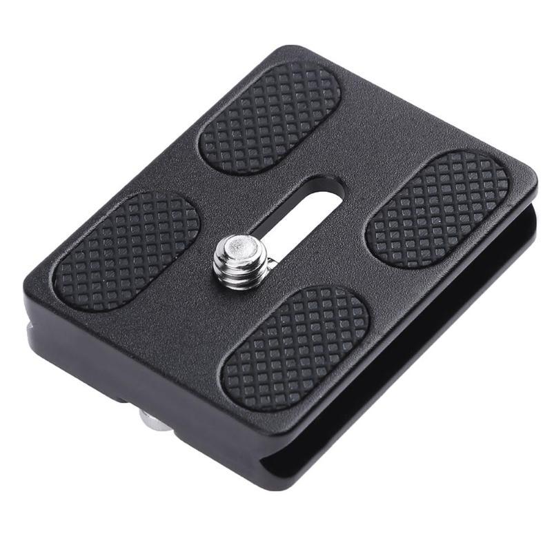 ALLOYSEED Universal PU-50 Metal Quick Release Plate Camera Tripod Adapter Mount Plate Board For Benro Arca Swiss Tripod Ballhead