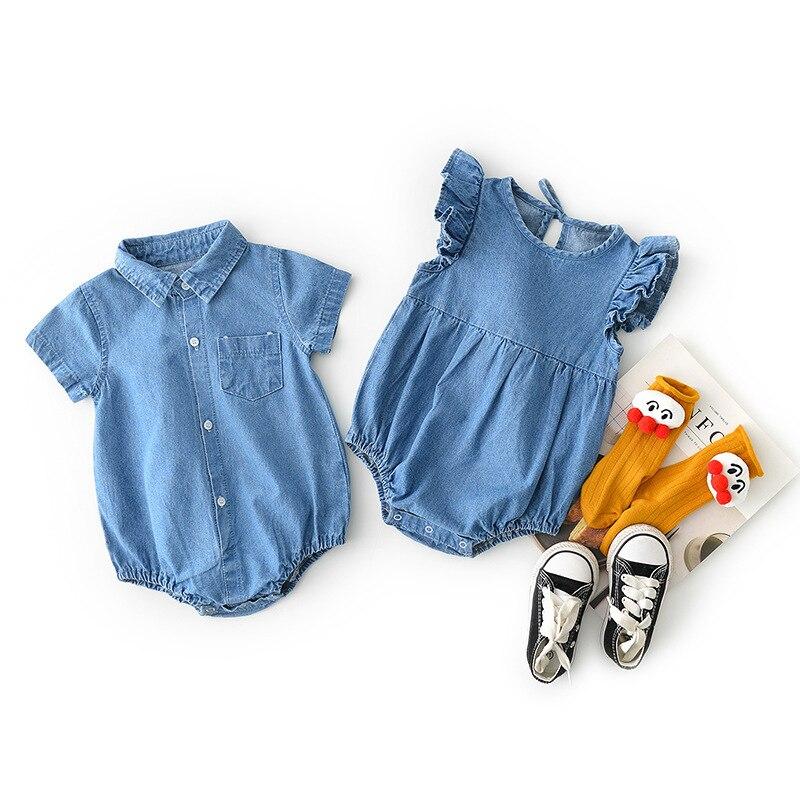 مجموعات ملابس مطابقة للأخت الكبيرة ، الأخت الصغيرة ، الأخت ، الأخت الصغيرة ، مجموعات ملابس الأطفال حديثي الولادة ، بذلة من الدنيم 2019