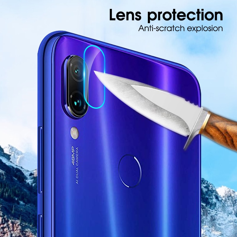 Camera Screen Protector For Xiaomi Redmi Note 7 5 6 Plus Pro India 6A S2 Camera Lens Film Tempered Glass