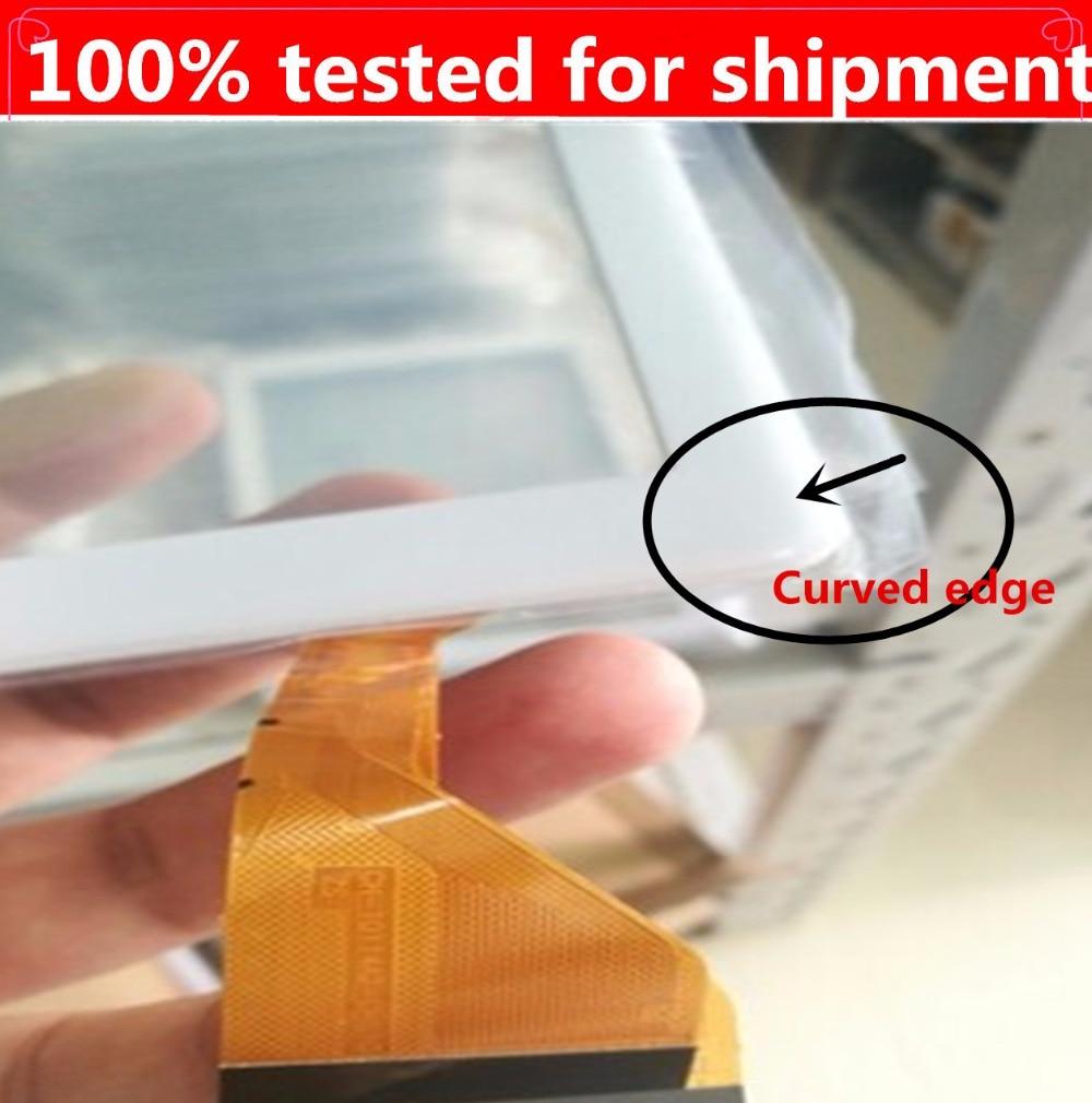 HZ جديد شاشة تعمل باللمس ل CH-10114A2-L-S10 منحني حافة اللمس لوحة اللمس أجزاء الاستشعار اللمس الزجاج محول الأرقام