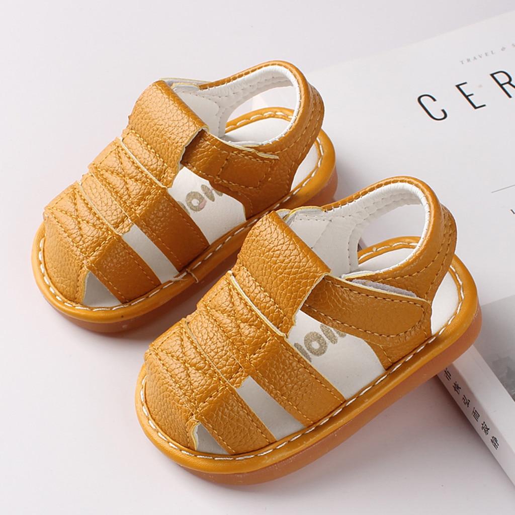 2020  Newborn Baby girl shoes Boys Roman Shoes Sandals First Walkers Soft Sole Shoes sandals sandale enfant fille сандали#A20
