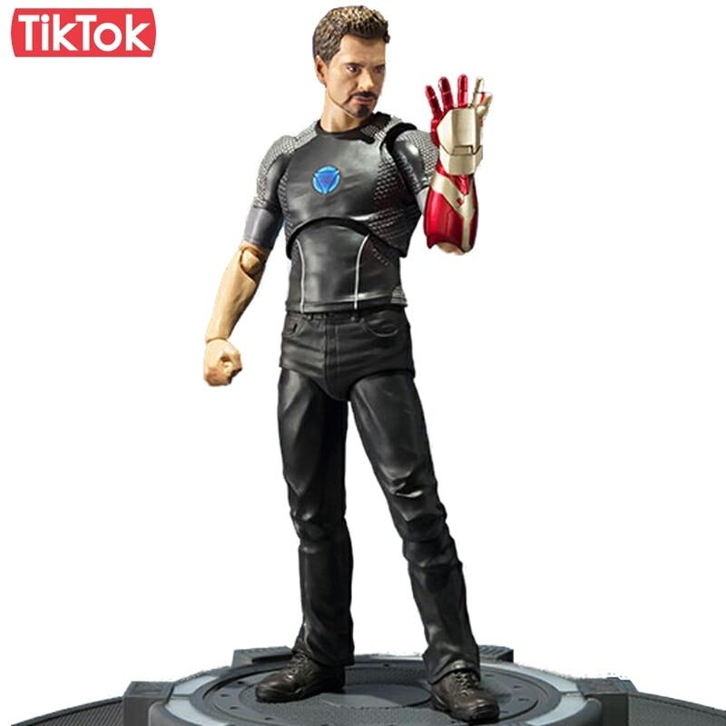 Hombre de Hierro 3 Tony Stark de Tony alimentado etapa juguete MODELO DE figura de acción regalo