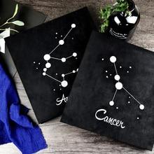 2017 new Embroidery twelve constellation album diy handmade creative couple romantic paste album boyfriend birthday gift