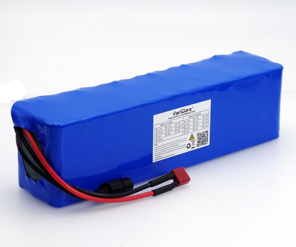 VariCore 48 V 6Ah 13s3p batería de alta potencia 18650 bicicleta eléctrica ciclomotor motocicleta eléctrica DIY batería 54,6 V Protección BMS + PCB