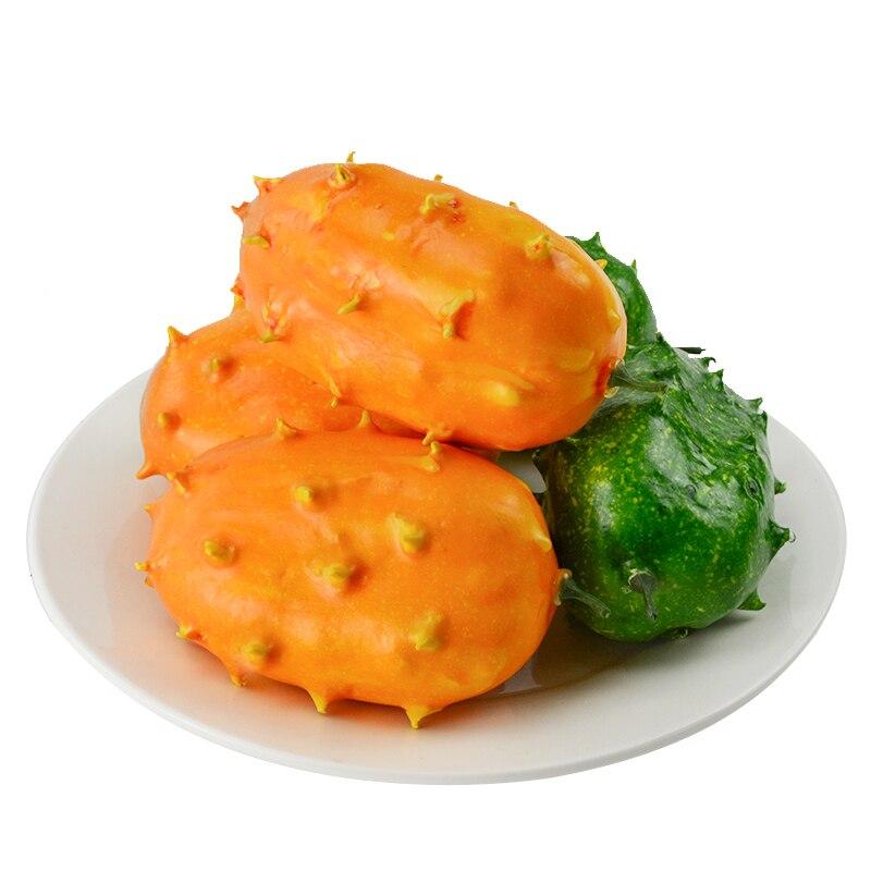 050 imitación de fuego ginseng frutas simulación de verduras de Frutas de plástico decoración props modelos de exhibición 12*7,5 cm