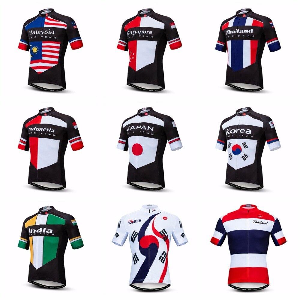 Krea-Camiseta de Ciclismo para hombre, camisetas de Ciclismo de montaña, Malasia, Indonesia, Japón, 2019