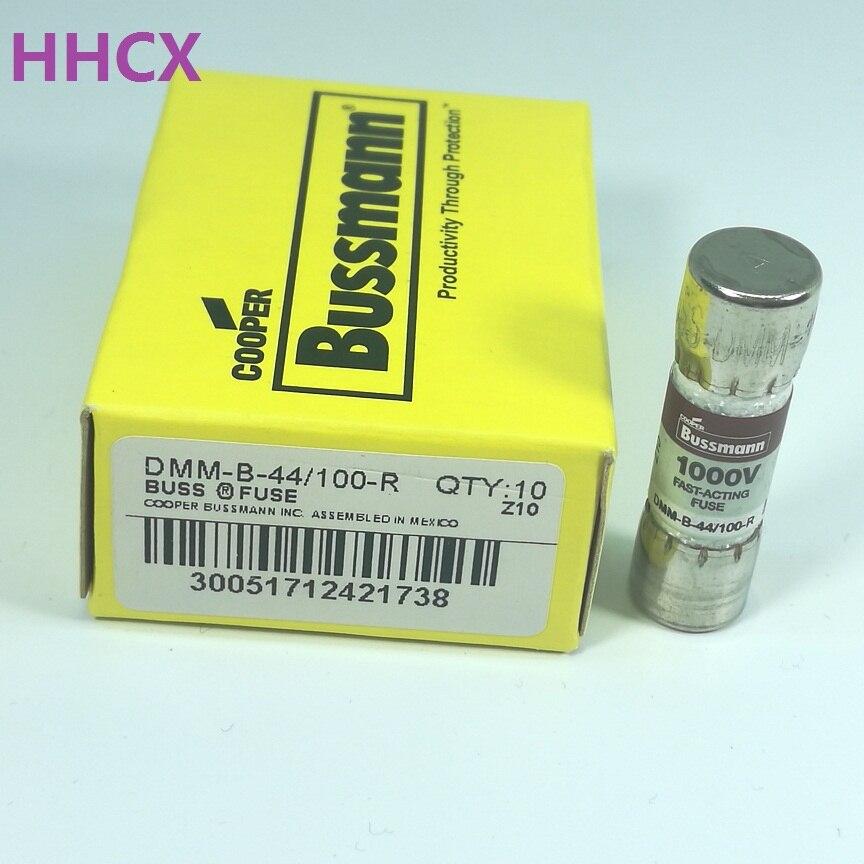 1 piezas DMM-B-44/100-R 1000VAC/DC 440mA fusible para FLUKE multímetro tamaño 10x35mm
