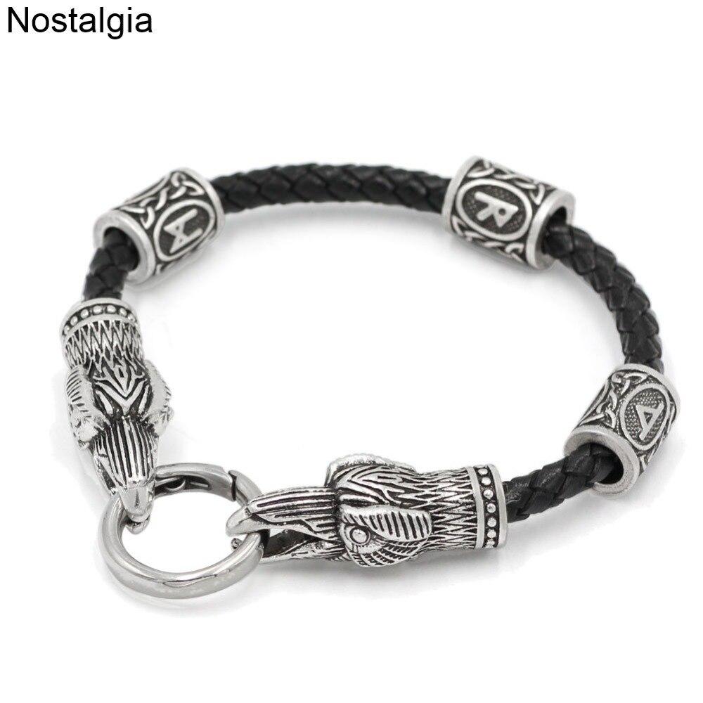 Amuletos Vikingos de cadena de cabezas de Lobo, Vikingos, Vikingas, cuentas, Talismán,...