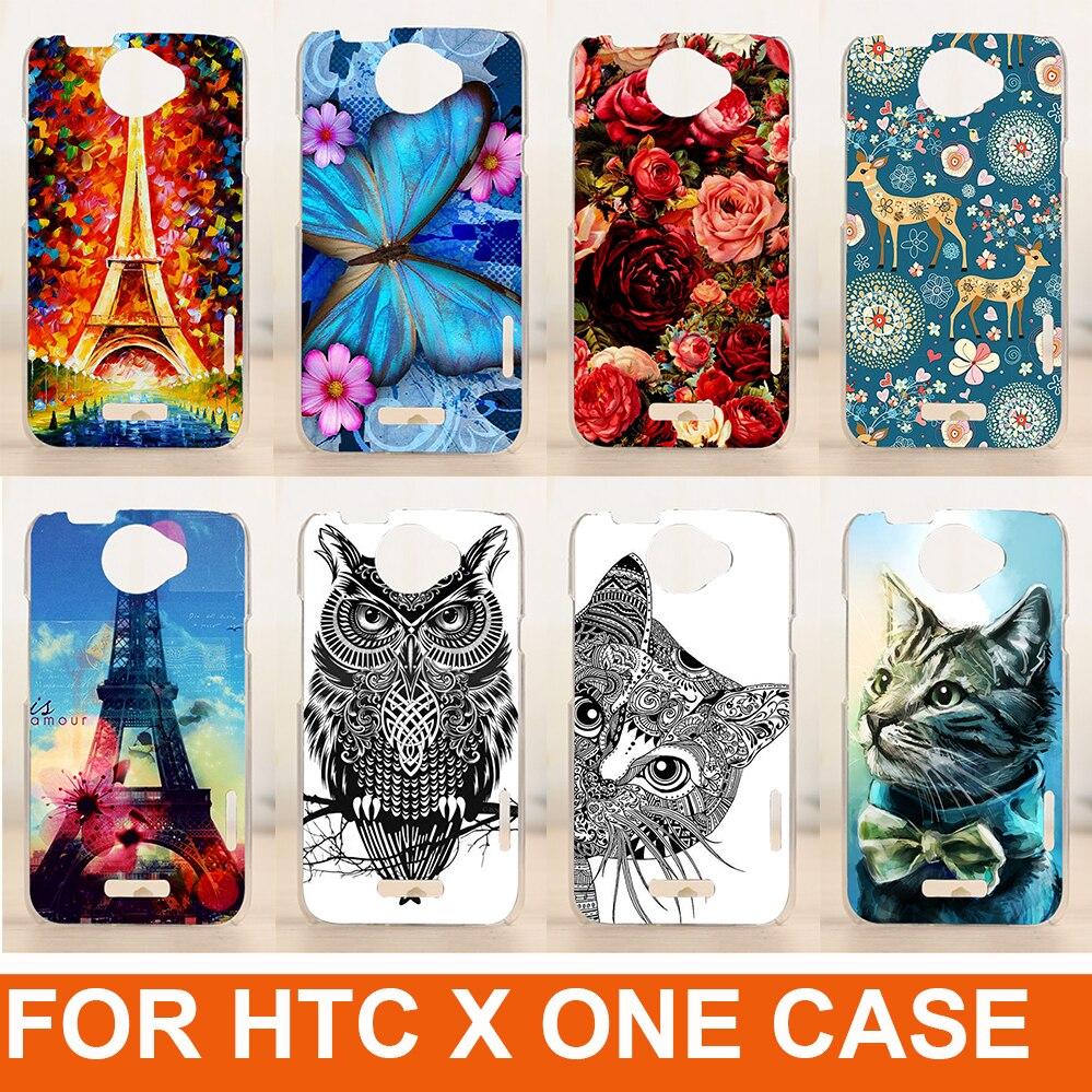 Cool Patroon Creatieve Patroon Hot Model Diy Mobiele Telefoon Beschermhoes Hard Cover Skin Shell Voor Htc One X s720e G23 Case