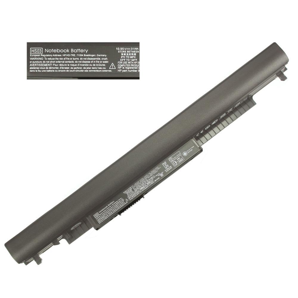 Аккумулятор 10,95 в HS04 для HP Pavilion 15-af087nw 15-af093ng 15-ac121dx 240 250 G4 807956-001 807957-001