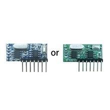 433mhz sans fil 4 canaux RF récepteur 1527 Module de décodeur de Code dapprentissage pour la livraison directe à télécommande
