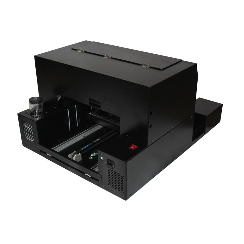 طابعة مسطحة للأشعة فوق البنفسجية لبطاقة الهوية ، وحافظة الهاتف ، وقلم ، و CD ، والجلود ، والمعدن ، والخشب ، إلخ.