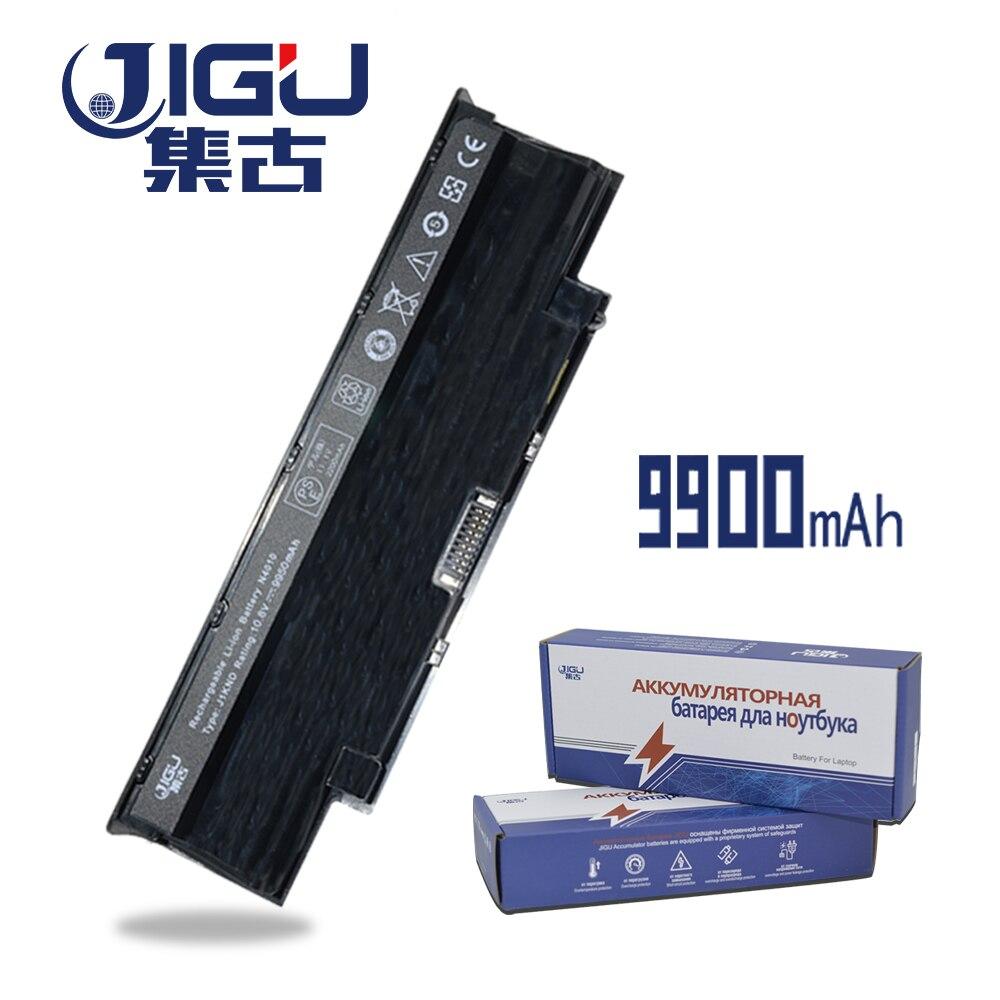JIGU 9 celdas de batería del ordenador portátil para DELL Inspiron 13R 14R 15R 17R M501 N3010 N4010 N5010 Vostro 1450, 3450, 3550, 3750 KB6128