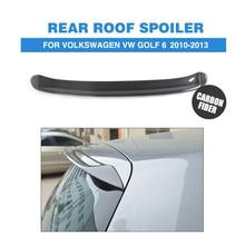 VW Golf 6 VI MK6 aile de becquet de toit arrière   En Fiber de carbone, GTI R20 Standard 2010 2011 2012 2013