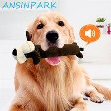 Ansinpark bonito animal de estimação gato cão brinquedo de alta qualidade produtos durabilidade animais brinquedos filhote de cachorro pet phonation mascar cachorro brinquedo de pelúcia p777
