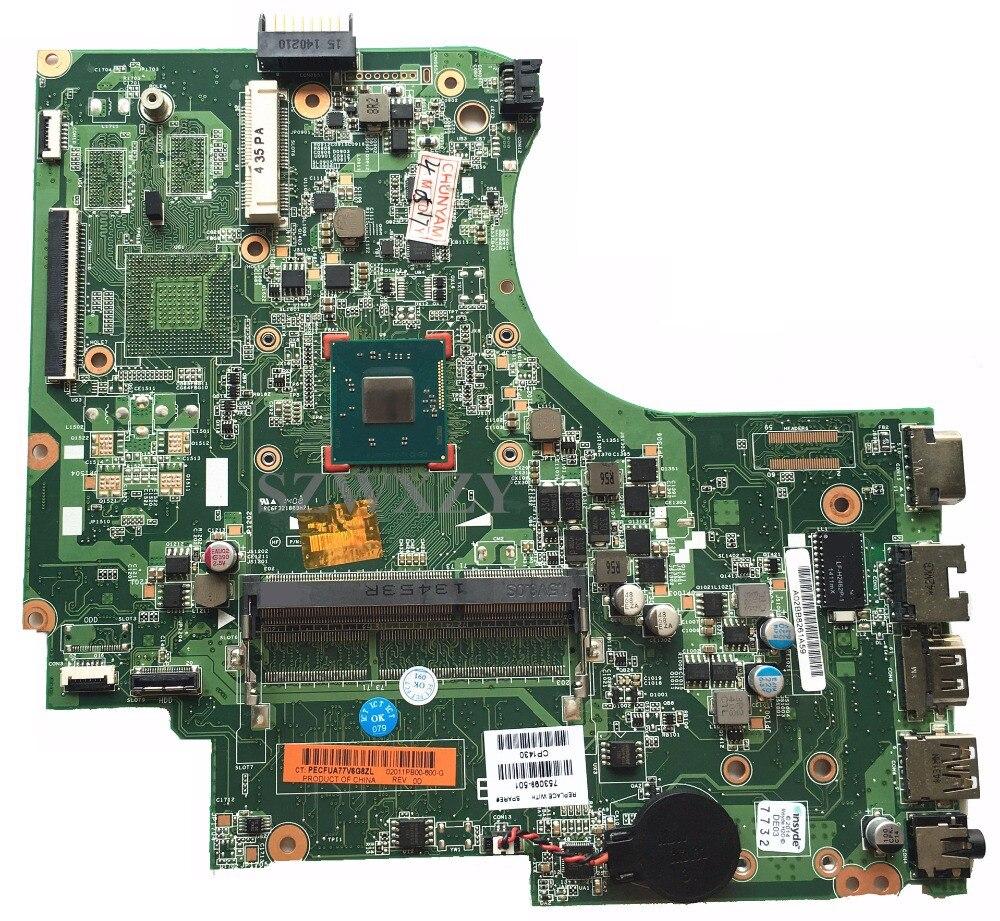 Para HP 15-D 250 G2 Laptop Motherboard 753099-501 753099-001 N3520 Processador Completo Testado