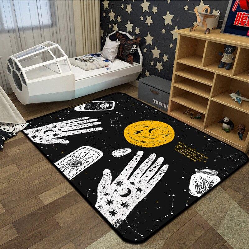 سجاد أوروبي ساحر لغرفة المعيشة وغرفة النوم ، سجادة أرضية مستطيلة لغرفة الأطفال ، غطاء طاولة القهوة