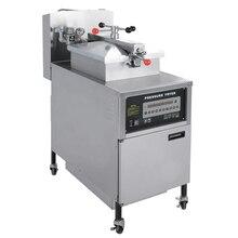 1PC PFG-600 Gas Computer Control Digital LCD Chicken Oil Pressure Fryer With Oil Pump 24L Oil Pressure Fryer Machine