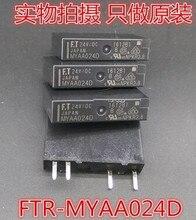 MYAA024D 24VDC 5A 250VAC   DIP4, Fujitsu, relais 1 de A TAKAMISAWA, nouveau et original