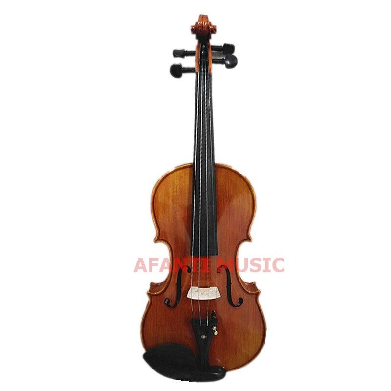 4/4 violín/Afanti música ébano diapasón 4/4 violín (AVL-251)