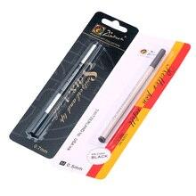 Recharge pour bille roulante Picasso Pimio suisse 0.5mm 0.7mm recharge pour stylo à bille roulante à vis recharge encre noire bleue 5 pièces/lot