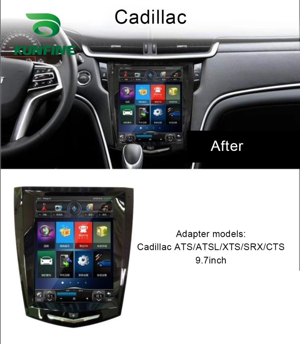 Octa Core Android 8,1 4GB RAM 64GM ROM Auto DVD GPS Navigation-Player Deckless Auto Stereo Für Cadillac ATS ATSL XTS SRX CTS Radio