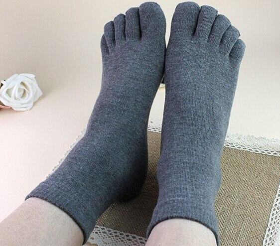 New Arrival 10 Pairs Men Women Socks Ideal For Five 5 Finger Toe Shoes Unisex Hot sale