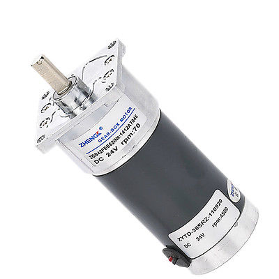 ZGB42FEE Reducer 12V 24V DC Permanent Magnet Motor Reversing 10/60/70/100/200/300/400/500RPM