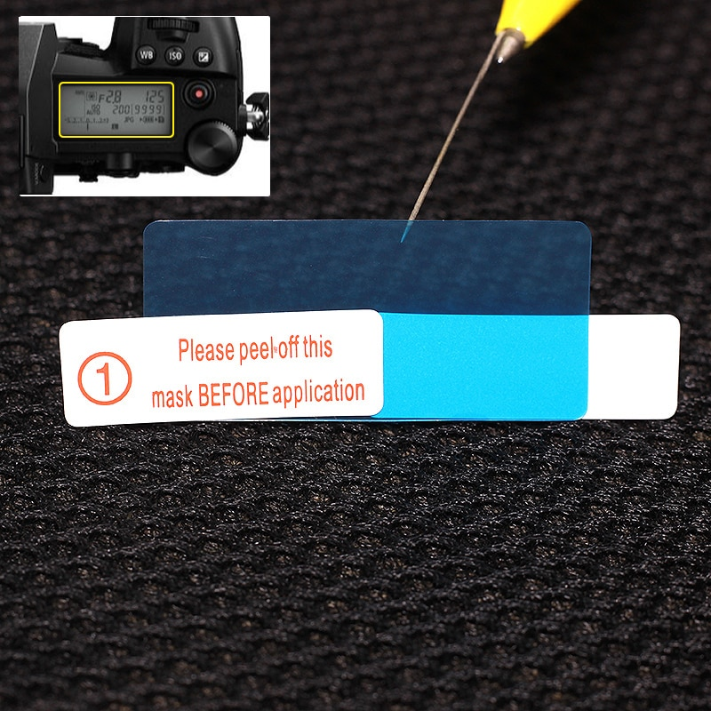 2x Топ ЖК-панель Защитная пленка для Panasonic Lumix DC-G9 G9 Fujifilm X-H1 XH1 GFX 50S GFX50S