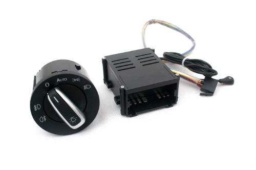 Sensor de luz y kit de rediseño de interruptor de luz de cabeza Euro para Volkswagen Passat B5/B5.5