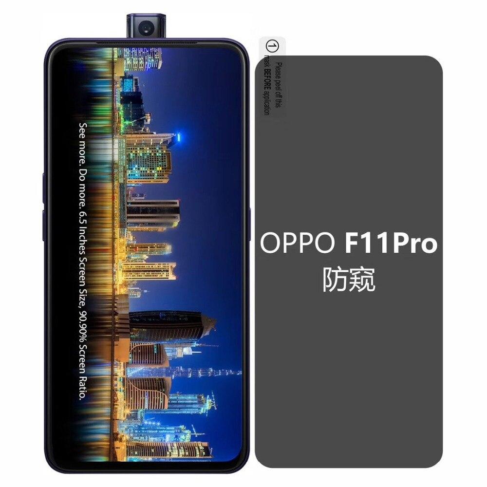 Para Oppo F11 Pro 2.5D Protector de pantalla de vidrio templado para Oppo F11 F9 R17 F7 0,3mm antirreflejo de templado de vidrio de película