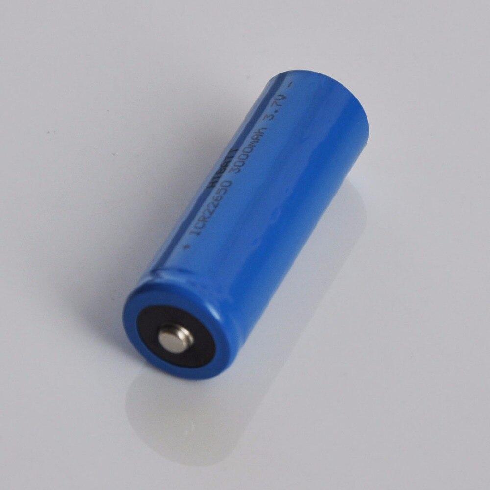1-4 Uds. 3,7 v 22650 batería recargable de iones de litio 3000mah para Feiyu tech Fy G5/SPG/SPGLive cardán de mano