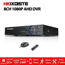 HD CCTV 1080 p DVR 8ch AHD 1080 p surveillance DVR NVR 8 kanaals AHD-NH 1080 p HDMI security standalone 3g WIFI DVR video recorder