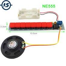 Kit de bricolage NE555 composant électronique électrique Piano orgue Module batterie boîte
