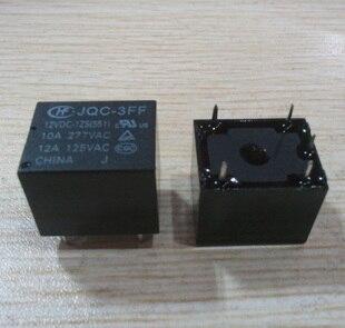 Free shipping new  relay series JQC-3FF-012-1ZS   JQC-3FF-12VDC-1ZS T73  DIP5  12v  5pcs/lot