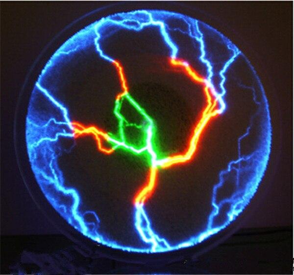 Flash luces de disco iónico disco mágico Placa de espejo disco Flash nuevas luces de visualización extrañas iluminación de alta tecnología