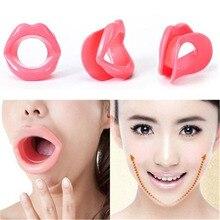 Силиконовый резиновый тренажер для лица, для похудения, для тренировки рта, для мышц, против морщин, для губ, тренажер для рта, тренажер, мундштук для ухода за лицом
