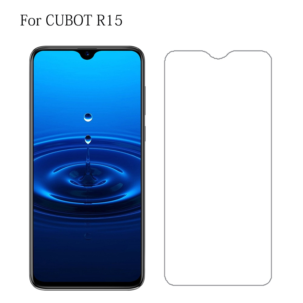 Vidrio templado para teléfono inteligente Cubot R15 J5 Nova Protector de pantalla para Cubot X19 P20 X18 Plus cubierta de teléfono película vidrio protectora