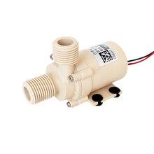 24 V, Lift 9 m, 20L/min, 0-110 grados Celsius, bomba de circulación, calentador Solar/gas/agua caliente eléctrica, sumergible de refuerzo presurizado