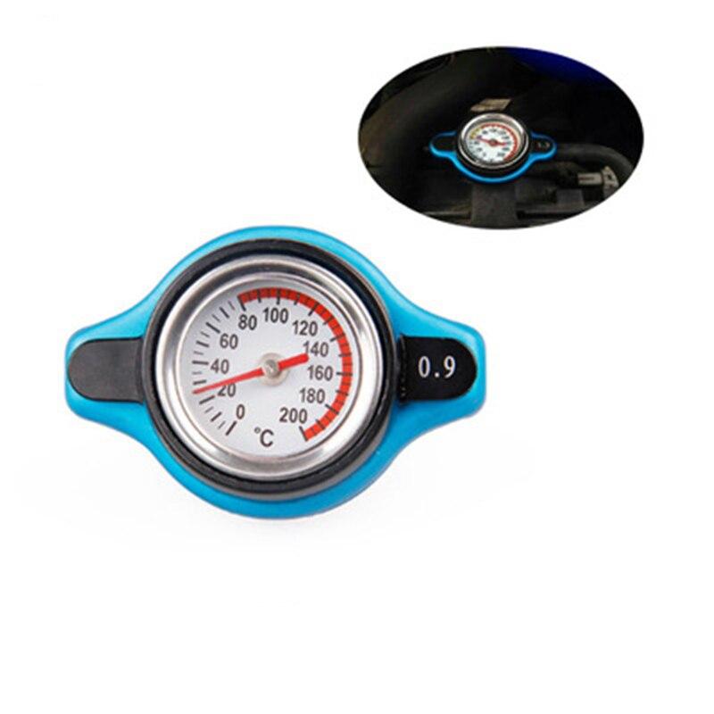 Accesorio de coche cubierta de tapa del radiador + medidor de temperatura de agua 1,3 BAR o BAR cubierta para coches