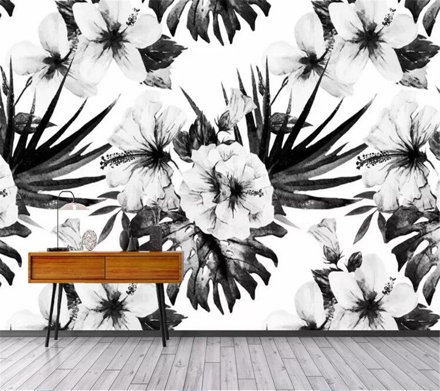 Wellyu-papel tapiz personalizado para sala de estar papel tapiz nórdico vintage de...