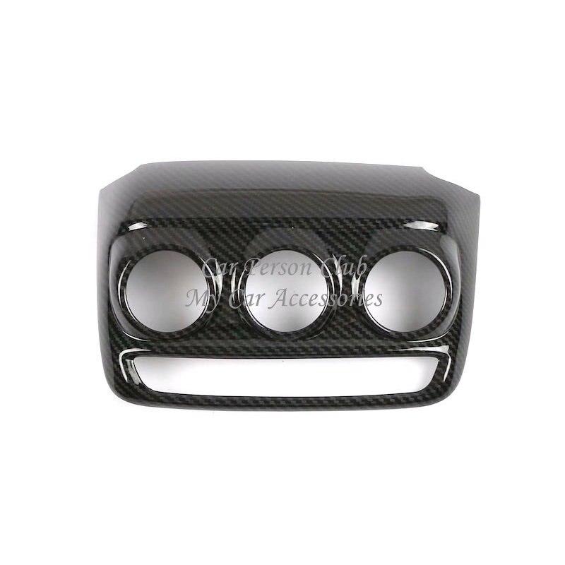 Consola Interior aire acondicionado interruptor botón Marco Panel ajuste para Chevrolet Trax Tracker 2019 ABS cromado accesorios para coche