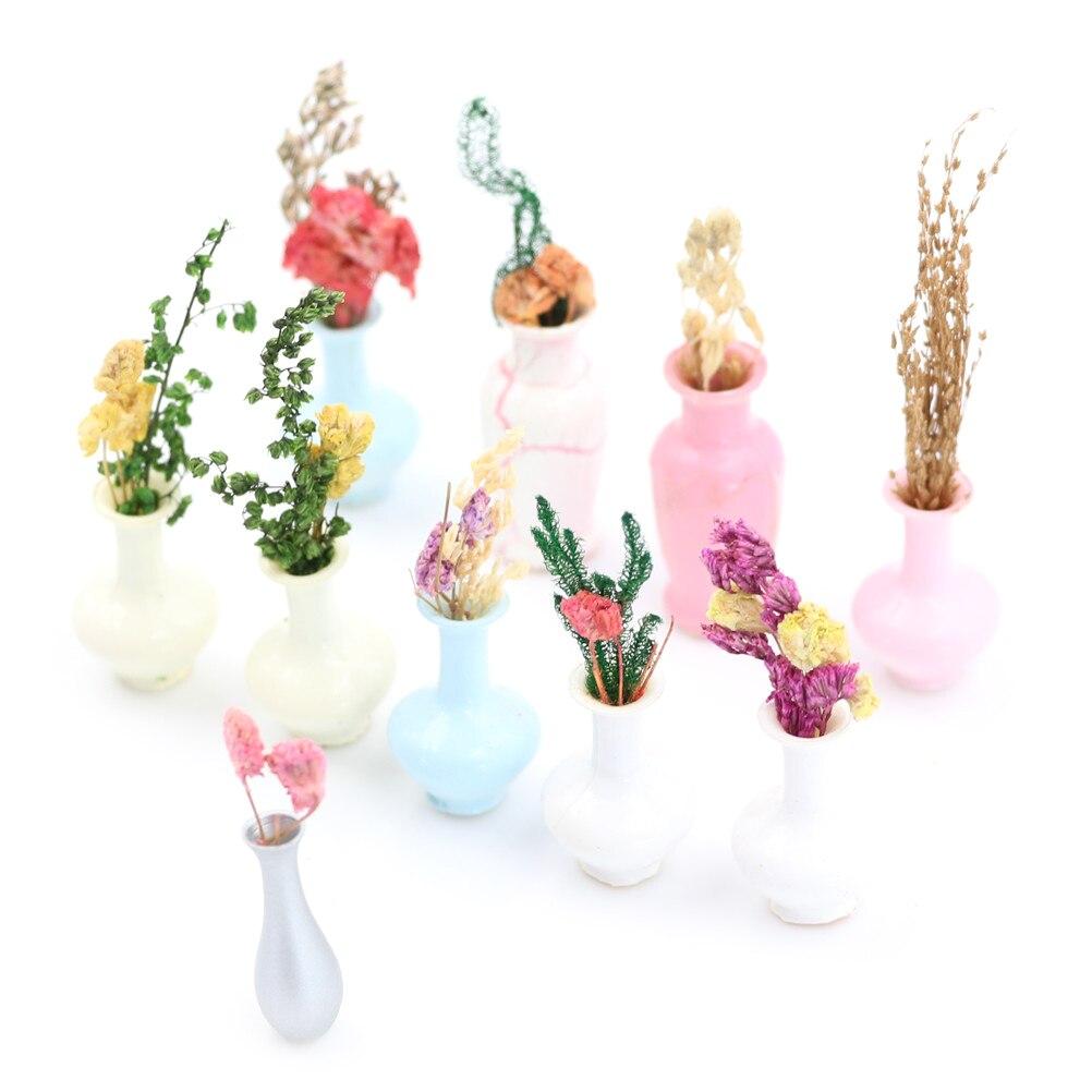 1 шт. мини ваза миниатюрный пейзаж песочный стол Модель домашний Декор Аксессуары статуэтки смолы ремесло Фея Сад бонсай кукольный домик