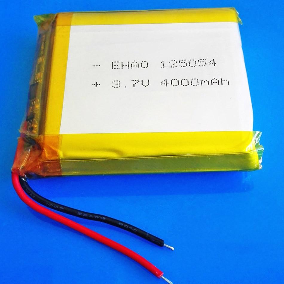 3,7 V 4000mAh литий-полимерная аккумуляторная батарея Lipo для GPS DVD PDA PAD power bank электронная книга камера планшетный ПК ноутбук 125054