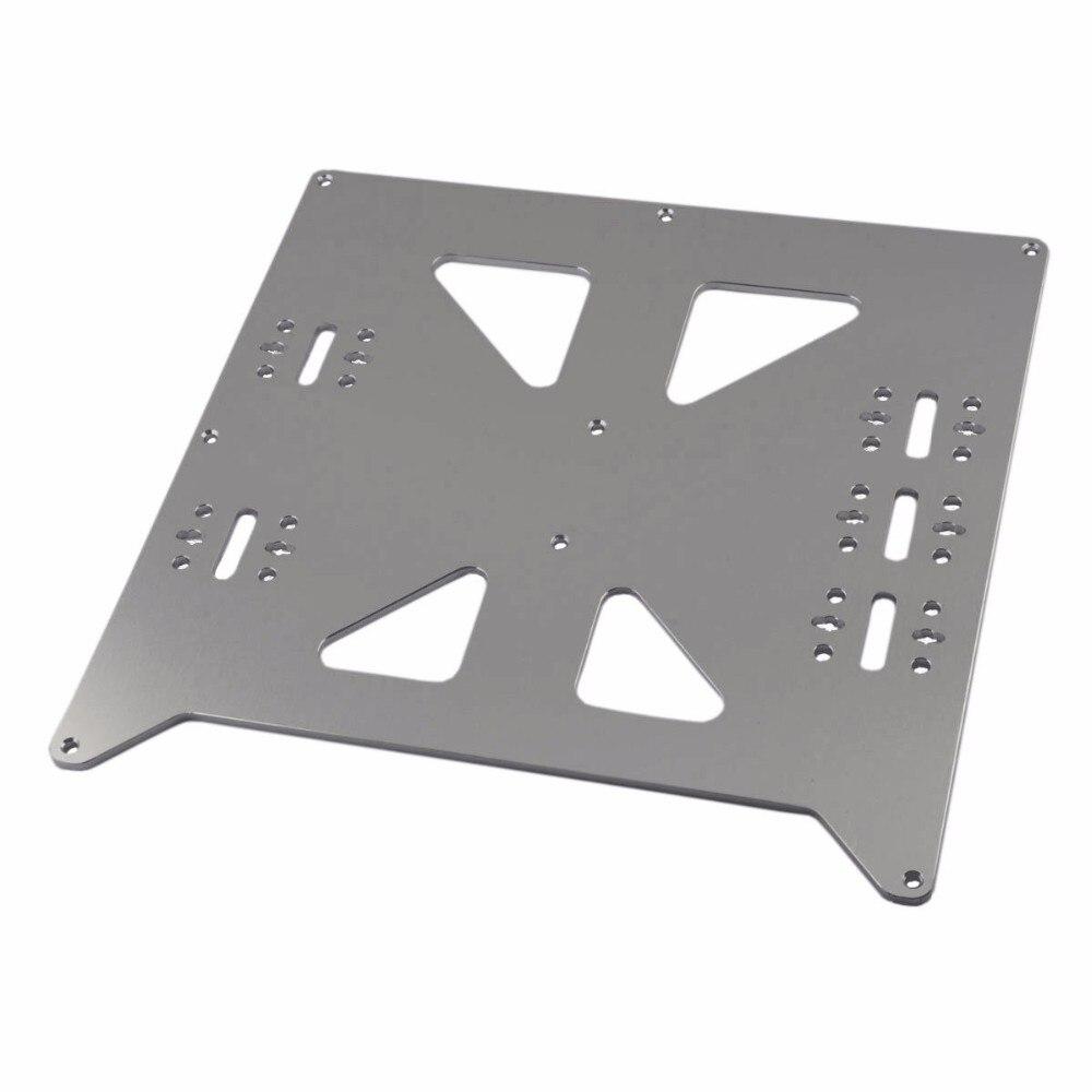 الألومنيوم Y النقل بأكسيد لوحة ترقية V2 للطابعة Prusa i3 RepRap ثلاثية الأبعاد