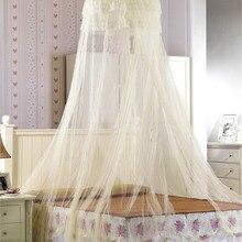 Moustiquaires pour lété en dentelle   Élégant dôme suspendu, moustiquaires en tissu de maille Polyester, Textile domestique, vente en gros, accessoires de produits