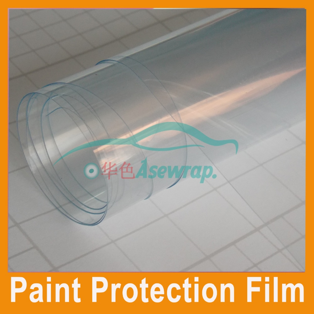 Film de Protection PPF pour les enveloppes   3 couches de peinture de voiture, Transparent pour voiture, taille 1.52x1 5m/roll, livraison gratuite