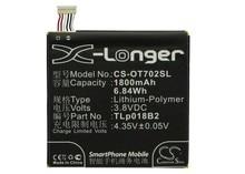 Cameron Sino Высококачественная батарея TLp018B2 для TCL/Alcatel One Touch OT-7024, 6030,6030D, 7024N, 7025,7025D, P600, P606, P606T, S820