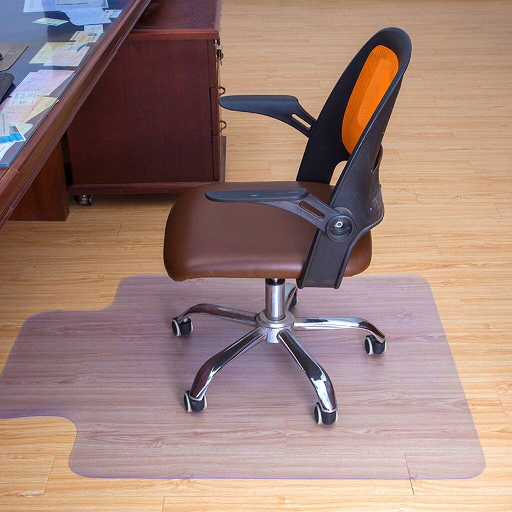 30 × 48 pulgadas de PVC Protector claro de la silla de oficina silla rodante piso alfombra de baño cocina alfombra de vida habitación piso Mat